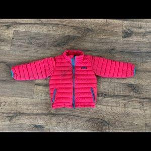 Patagonia Girls 5T Down Sweater Jacket